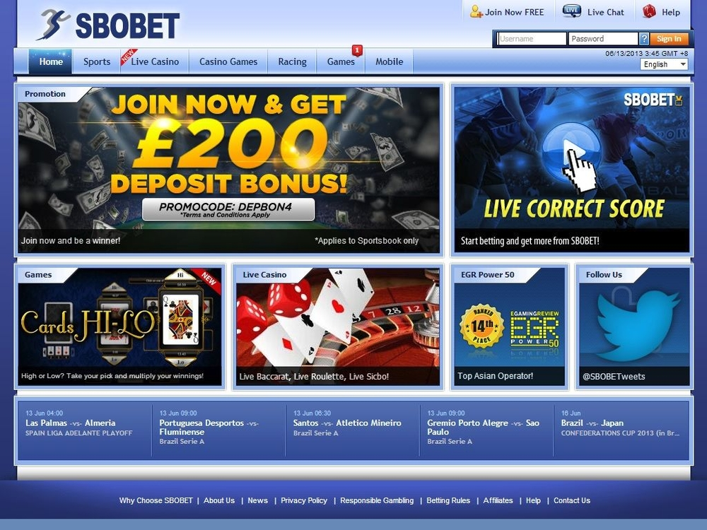 Which Is the Best SBOBET Club Betting Executive?