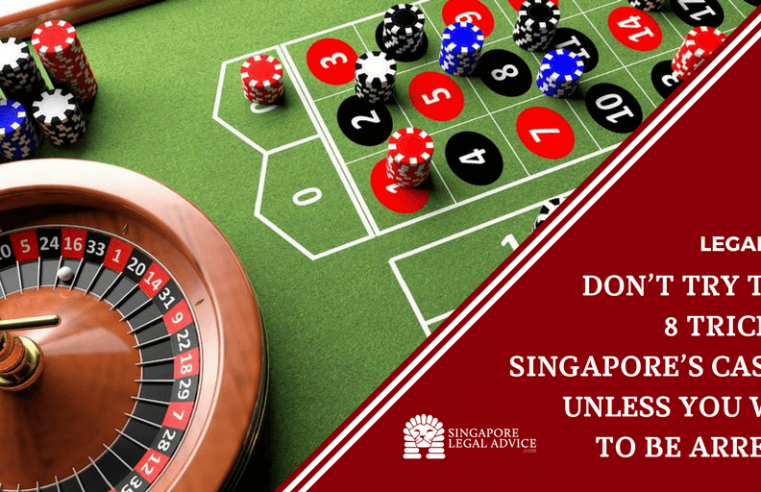 Traditional and Classic Casino Games to Play in Singapore