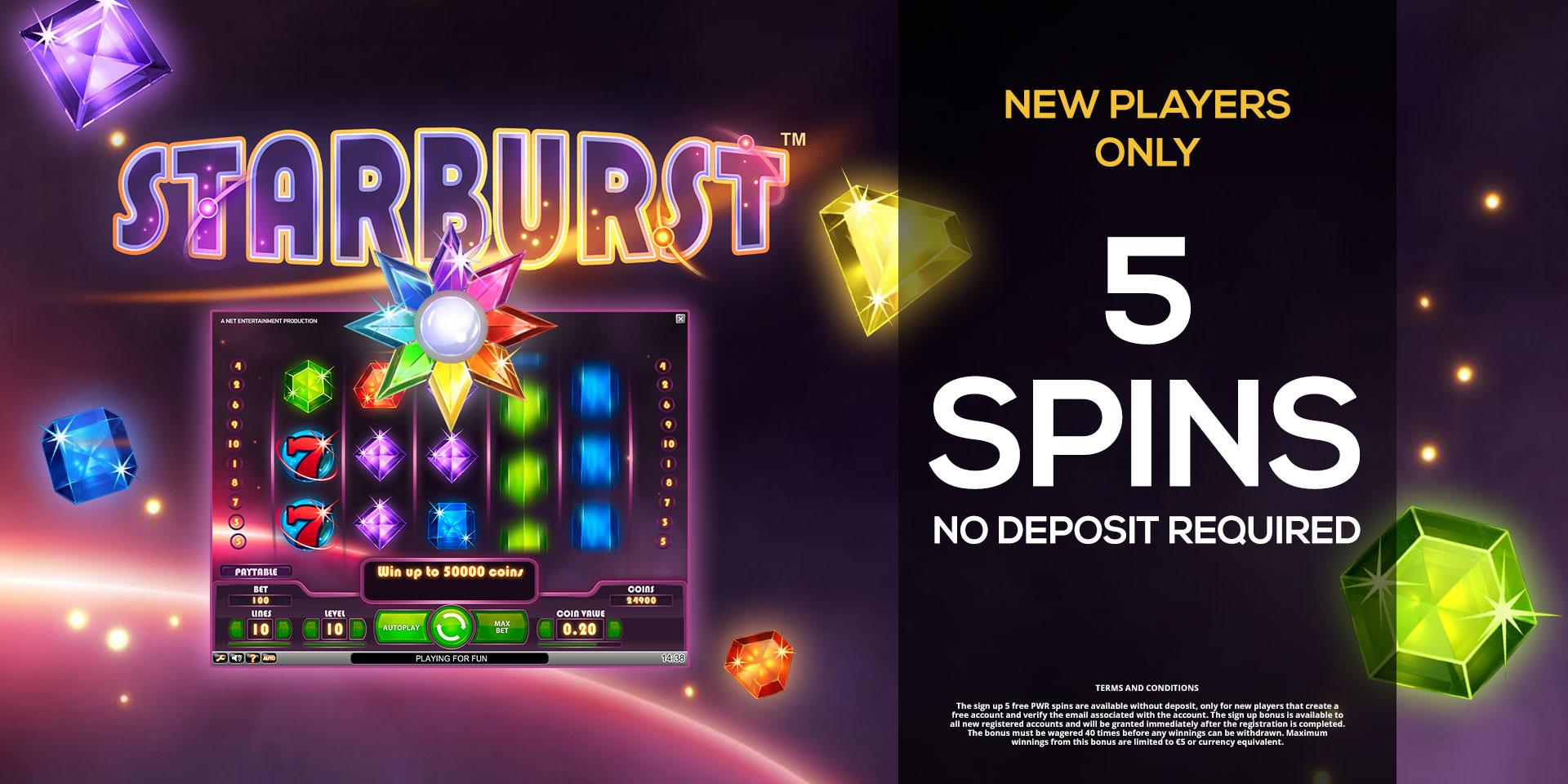 Free Spins Casino Bonus With No Deposit Required